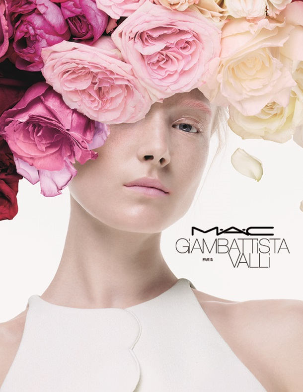 mac makeup and giambattista valli