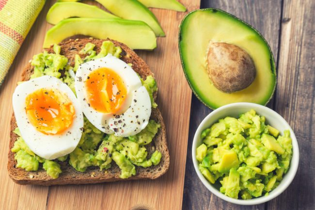 healthy skin and avocados